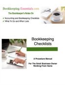 Accounting and Bookkeeping Checklists eBook