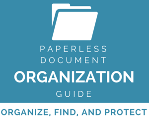 Paperless Document Organization Guide by Brooks Duncan