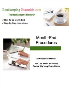 A Certified Professional Bookkeeper shares 21 simple bookkeeping steps on