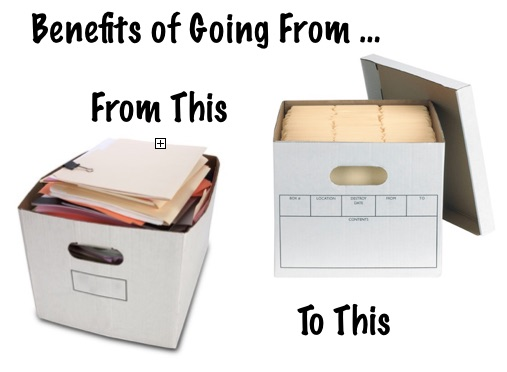 Benefits of bookkeeping with a file box