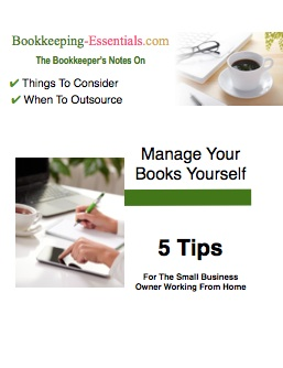 Manage The Books Yourself