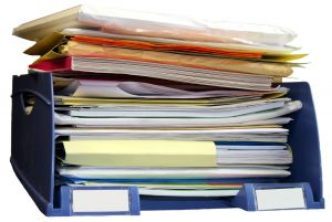 Organize your bookkeeping records.