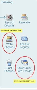 How ot prepare an expense report in QuickBooks.