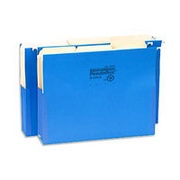 Use hanging file folders so you don't lose any bits of paper necessary for your bookkeeper.