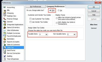 1. Turn on Sales Tax