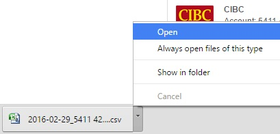 Adjust the date format before uploading to QBO bank feed.