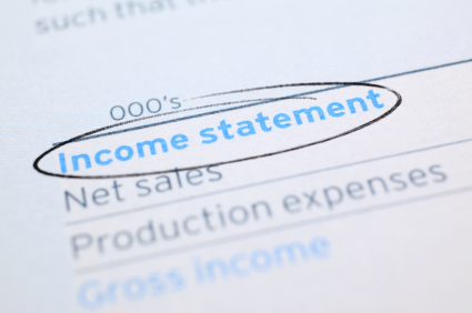 How to read to your income statement.