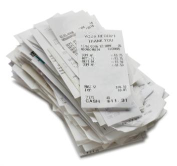Missing Receipts Found