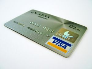 Line of Credit Visa Card