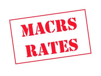 IRS MACRS Rates