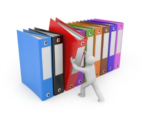 How to organize your bookkeeping paperwork for your bookkeeper.