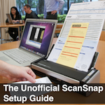 The Unofficial Scansnap Setup Guide Recommended for Bookkeepers