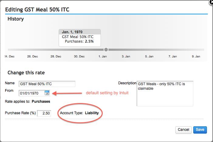 Alberta Sales Tax >> QBO Canada Sales Tax Setup - Meals