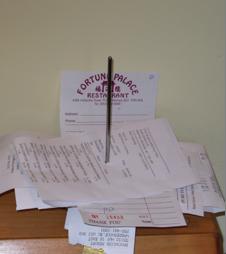 What is the CRA criteria for a legitmate receipt?
