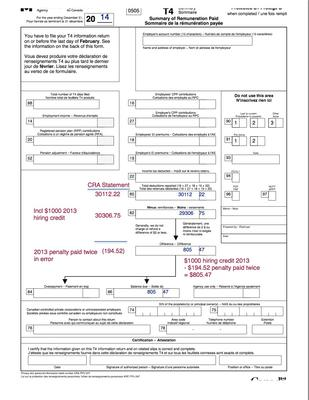Penalty Payment Paid Twice In Error Causes Confusion