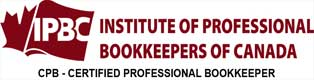 image of IPBC's Certified Professional Bookkeeper (CPB) logo