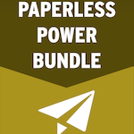 Paperless Power Bundle - 4 guides in 1 bundle