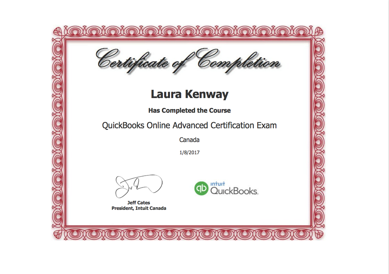 QBO Advanced Certification Diploma