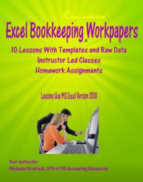 10 Lessons in Excel Workpapers, Lessons Tailored for Bookkeepers