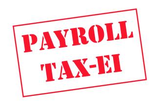 Payroll Tax EI Rates