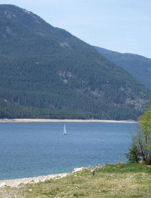 Lower Arrow Lakes, near my home in Castlegar, BC.