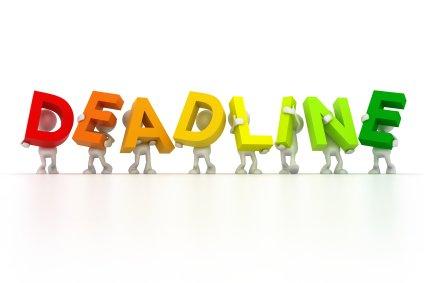 Payroll tax deposit deadline