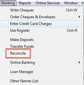 What to do if bank doesn't reconcile